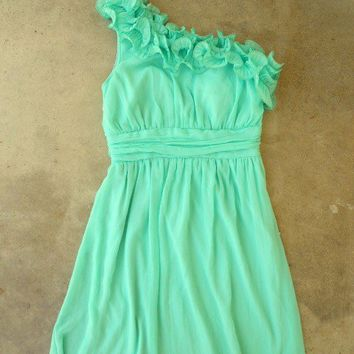 Sweet Mint Julep Dress [2295] - $42.00 : Vintage Inspired Clothing ...