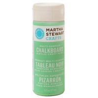 martha stewart crafts® 6oz multi-surface chalkboard paint acrylic craft paint