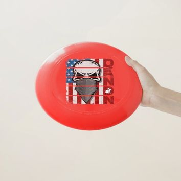Q Anon The Great Awakening American Flag Patriotic Wham-O Frisbee