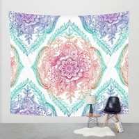 VONESC6 2016 New Summer Large Flower Printed  Round Hippie Tapestry Beach Throw Roundie Mandala Towel Yoga Mat Beach Towel Serviette
