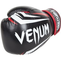 Newegg.Com - Venum Sharp Nappa Leather Boxing Gloves - 10 oz. - Black/Ice/Red
