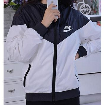 """NIKE"" Women Fashion Hooded Top Pullover Sweater Sweatshirt"