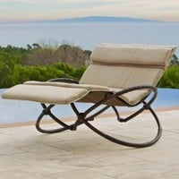 RST Outdoor Delano Double Orbital Lounger with Cushion Set (Discontinued by Manufacturer)