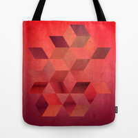 Heat Tote Bag by DuckyB (Brandi)