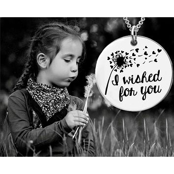 I Wished For You Necklace | Dandelion Wish