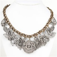 Sweet Romance - Sunken Treasure Bib Necklace