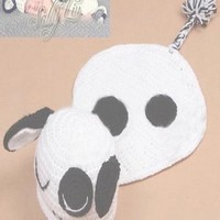 Cow Knit Hat Outfit Newborn Baby Photo Prop - CCA55