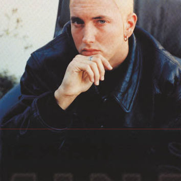 Eminem Leather Look 2000 Poster 24x33