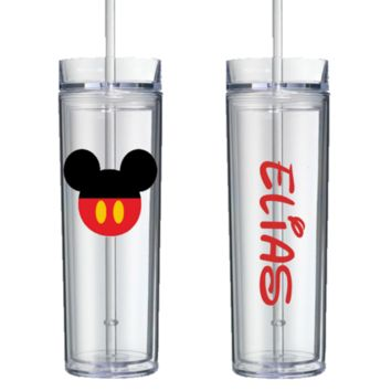 Best Quality Mickey w/ Pants Personalized Tumbler Free Shipping