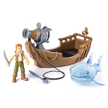 Pirates of the Caribbean: Dead Men Tell No Tales - Ghost Shark Attack Action Figure Play Set | Disney Store
