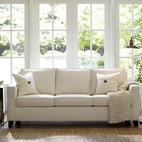 Cameron Upholstered Square Arm Sofa