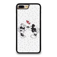 MICKEY AND MINIE MOUSE KISSING Disney iPhone 4/4S 5/5S/SE 5C 6/6S 7 8 Plus X Case