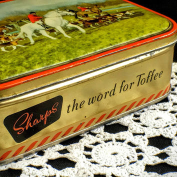 Vintage Tin Sharp's Toffee