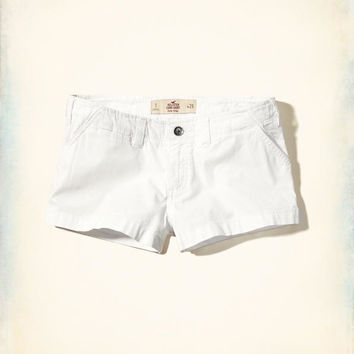 Girls Low-Rise Chino Shorts | Girls Clearance | HollisterCo.com