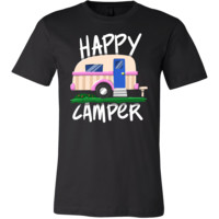 Happy Camper Road Trip Family Camping Campers Shirt