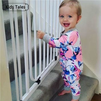 2017 Autumn Baby Clothing Pajamas Infant toddler baby rompers baby cotton long-sleeved overalls Boys Girls bebes clothes SR107