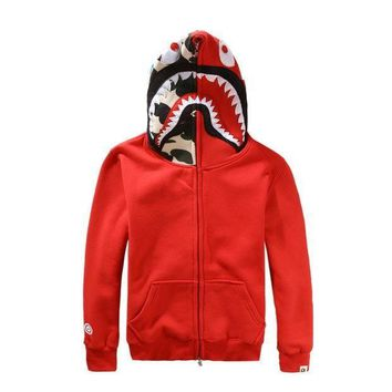 DCCK8H2 Fashion Shark Hoodies Jacket