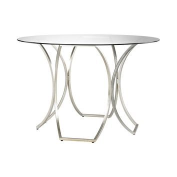 Clooney Entry Table Champagne Gold