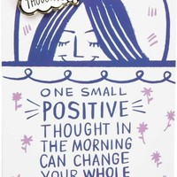 Happy Thoughts Can Change Your Whole Day Enamel Pin