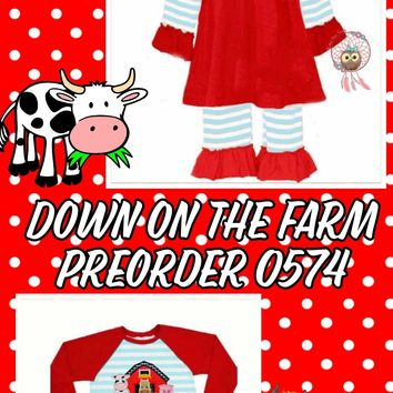 Down on the Farm*BROTHER/SISTER Options*Preorder- 0574*Closes: October 21st at 8pm*ETA: 8 weeks