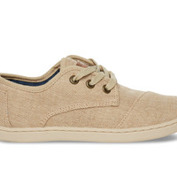 Natural Burlap Youth Paseos US 6