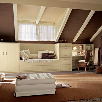 Solid Wood Bedroom Set English Mood From Archi Products Rooms