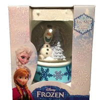 "Disney ""Olaf"" Frozen Exclusive Collectible Musical Snow Globe - Plays Let It Go"