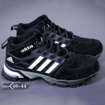 Adidas Boost Fashion Sneakers Trending Running Sports Shoes Black G-A-YYMY-XY