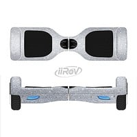 The Silver Sparkly Glitter Ultra Metallic Full-Body Skin Set for the Smart Drifting SuperCharged iiRov HoverBoard