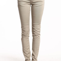 COLOR POP SKINNY JEANS
