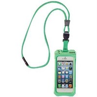 iCat 11043CP-C107 Dri Cat Neck It Waterproof Case with Lanyard for iPhone 4/4S - 1 Pack - Retail Packaging - Green