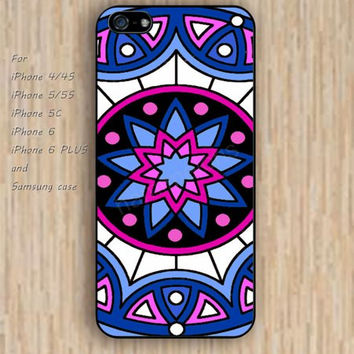 iPhone 5s 6 case colorful mandara blue phone case iphone case,ipod case,samsung galaxy case available plastic rubber case waterproof B301