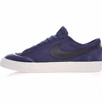 Nike SB Blazer Low XT Sneaker Navy Black White 864348-409