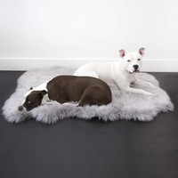 Ortho Faux Fur Shag Rug Bed