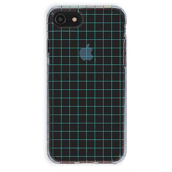 Off The Grid Holo iPhone Clear Case