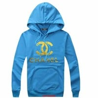 ONETOW CHANEL Woman Men Hooded Top Sweater Hoodie Sweatshirt