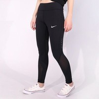 Nike Pro Exercise Fitness Gym Running Training Leggings I