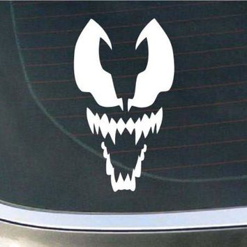 Spiderman Venom Face logo Vinyl Decal Sticker Car Window Wall Bumper Phone Laptop