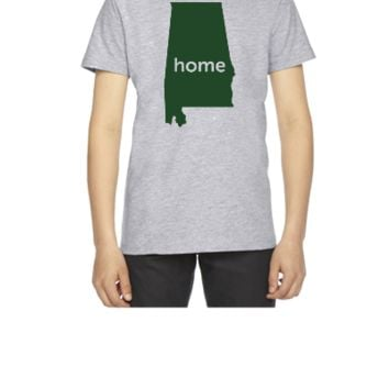 alabama home - Youth T-shirt
