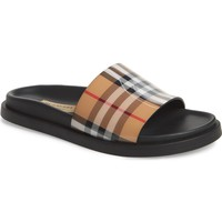 Burberry Vintage Check Slide Sandal (Women) | Nordstrom