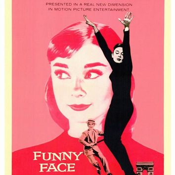 Funny Face 27x40 Movie Poster (1957)