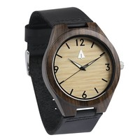 Wooden Watch // Ebony 35