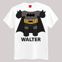 Batman Personalized Shirt Your Name On Shirt Headless Shirt Cartoon Body Shirt