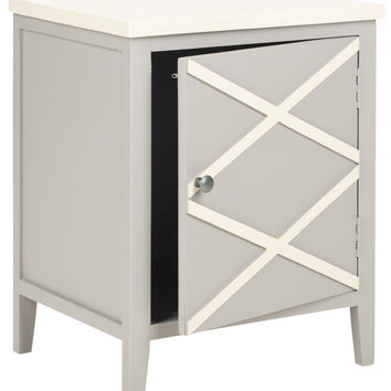 Bernardo Side Cabinet Grey