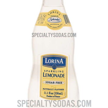 Lorina Sparkling Lemonade Sugar-Free 330ml Glass Bottle