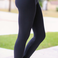 Fleece Lined Leggings - Multiple Colors