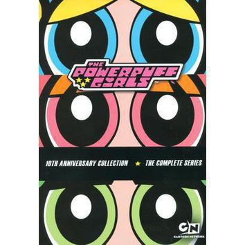 The Powerpuff Girls: The Complete Series - 10th Anniversary Collection (6 Discs) (Dual-layered DVD)
