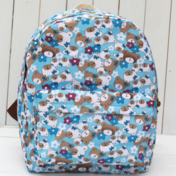 Lovely Dolls Canvas Cute Backpack = 4887954180
