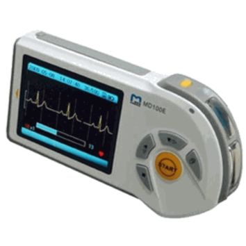 Choice Medical MD100E Handheld ECG monitor , color screen , SD card slot , real time PC view