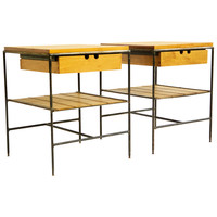 Paul McCobb Pair of Side Tables